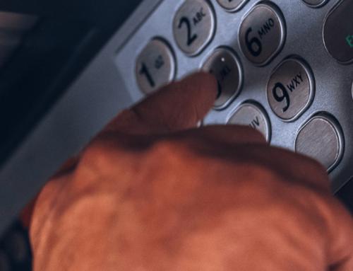 Bank card PIN code changing at ATMs
